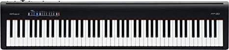 review teclado Roland FP 30 BK